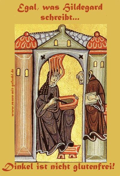 Hildegard von Bingen, Dinkel, gluten