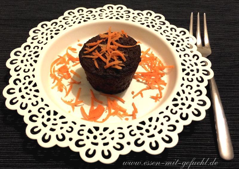 Möhrenmuffin, glutenfrei, paleo