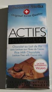 Actifs, Vollmilchschokolade, Reismilch