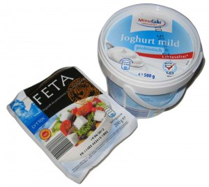 Aldi Süd: Laktosefreie Produkte und laktosefreier Feta