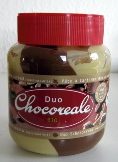 Chocoreale Duo, laktosefrei, Nutella