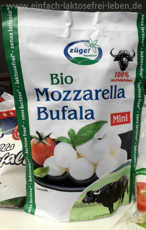 Laktosefreier Bio-Büffel-Mozarella von Züger