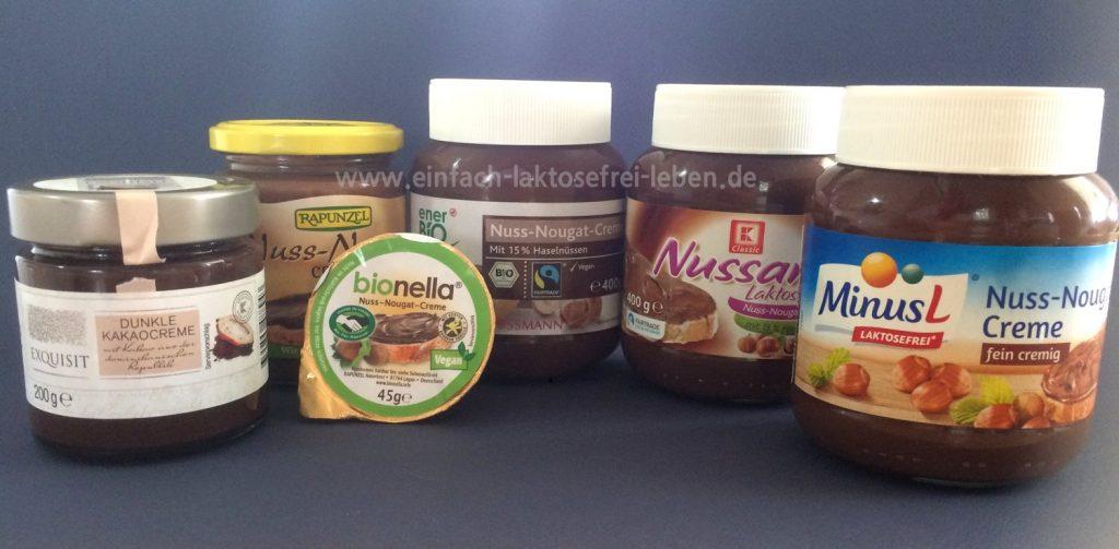 nutella alternativen, laktosefrei, glutenfrei, milchfrei, bio
