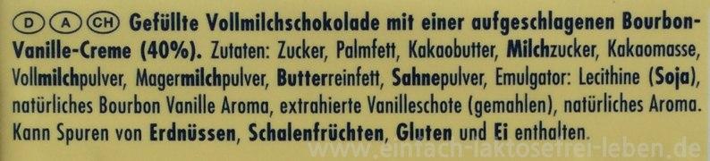 rittersport, vanille, laktose