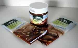 Schokolade und Nuss-Nougat-Creme von Schneekoppe