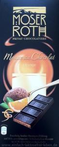 Moser Roth Mousse au Chocolat Orange, laktosefrei, Aldi Süd