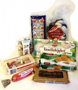 Laktosefrei, weihnachtsnascherei, Supermarkt